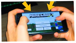 LA MIA PRIMA VOLTA SU MINECRAFT PE (POCKET EDITION)
