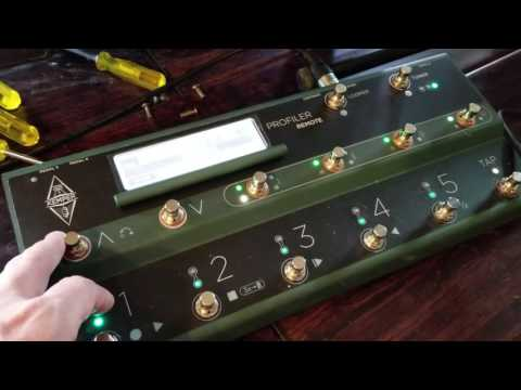 Using the Kemper Profiling Amp for Live Acoustic/Electric Rig...
