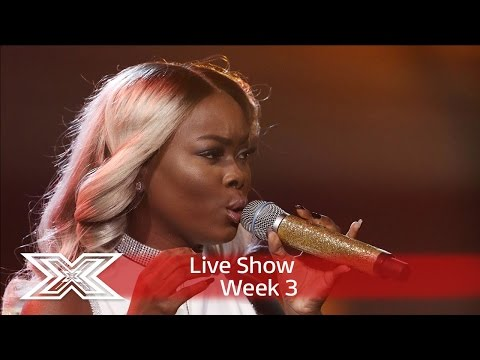 Gifty gets her diva on with Sam Smith's Lay Me Down | Live Shows Week 3 | The X Factor UK 2016