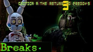 Critica A The Return To Freddy S 3 FNaF Fangame