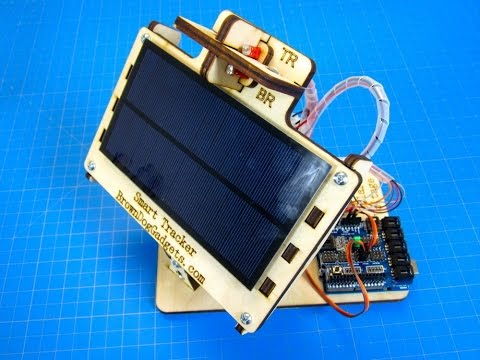 Dual Axis Solar Tracker - DIY Arduino Powered