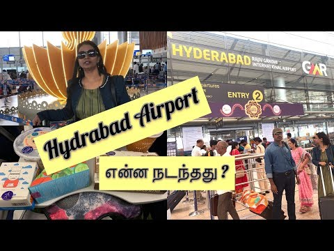 Hyderabad Airport Guide in Tamil | Delhi to Hyderabad | Diwali shopping |Giveaway |#Mahabepositive