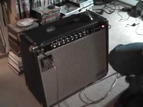 Music Man 112 RP Amp with Bare Knuckle Mississippi Queen P90 Humbuckers