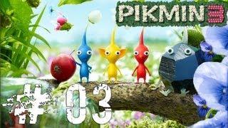 Vamos jogar: [Pikmin 3] Day 03 [Garden of Hope - The Captain