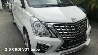New 2017 hyundai starex walk around