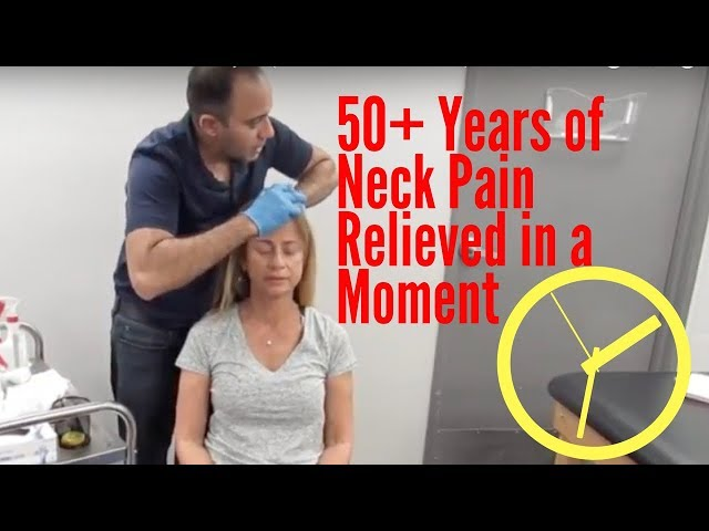 50+ Years of Neck Pain Relieved Before Your Eyes! (INCREDIBLE RESULTS!!)