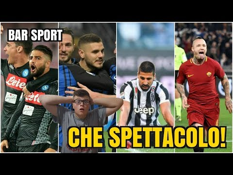 DISASTRO JUVE: NAPOLI E INTER SCAPPANO, ROMA È GIALLOROSSA! (Bar Sport Serie A)