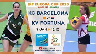 IKF ECup 2020 Barcelona KC - KV Fortuna