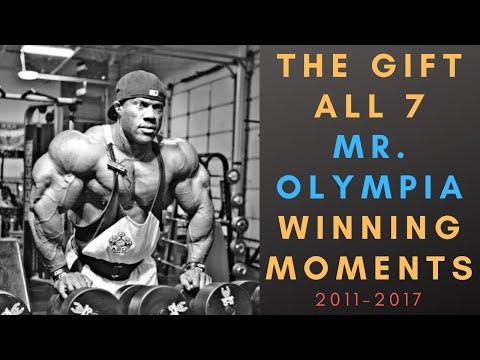 PHIL HEATH Mr Olympia Winning Moments Compilation 2011-2017