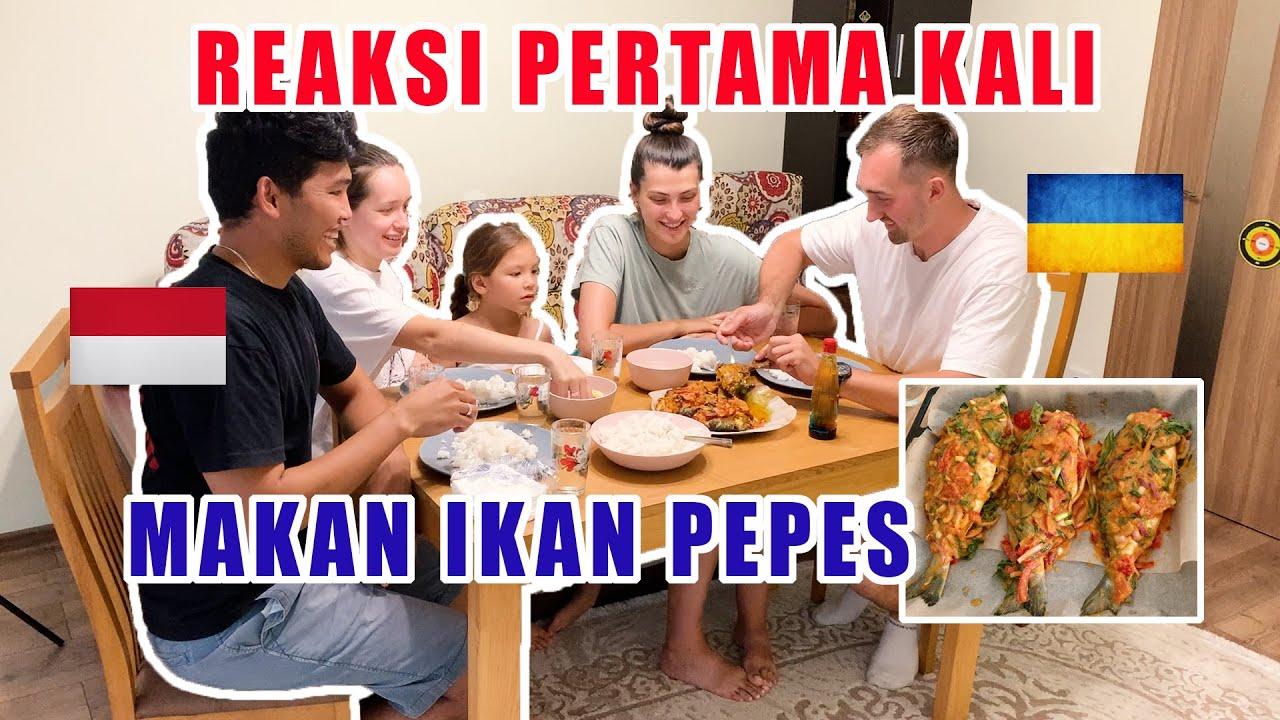GARA-GARA IKAN PEPES JADI MAU MAKAN IKAN - MEREKA BILANG BUKA RESTORAN INDONESIA AJA