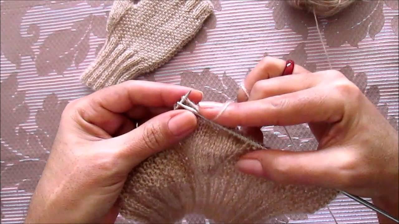 Kış İçin Parmaksız Eldiven Yapımı Videolu Anlatımlı