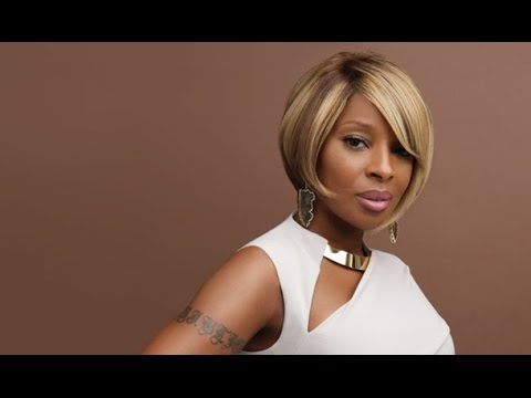 2015 Mary J Blige Hairstyles