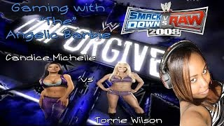 Smackdown Vs Raw 08 - Gaming with Ticoistocory | Candice Michelle vs Torrie Wilson