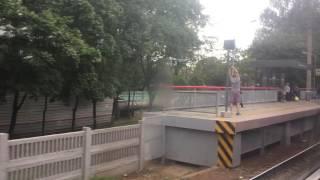 Новая платформа в Карачарово/ТПУ на МКЖД