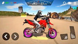 Ultimate Motorcycle Simulator #6 - Bike Games! Android gameplay
