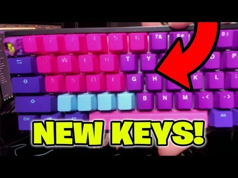 Tfue Shows His New Keyboard Keycaps On Stream! (Tfue Keyboard Keycaps)