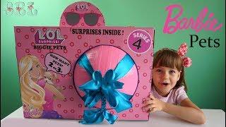 Barbie BIGGIE PETS Custom LOL SURPRISE ЛОЛ Сюрприз Питомцы Барби