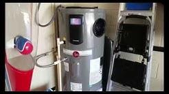 Rheem Hybrid Heat Pump Water Heat & Upcoming Solar System