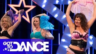 Ashley Banjo & Adam Garcia with Belicious | Audition | Got To Dance 2014