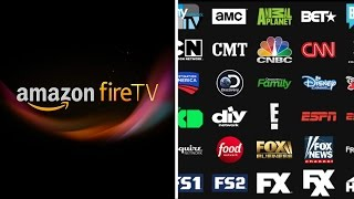 Playstation Vue Fire TV / Fire TV Stick Review