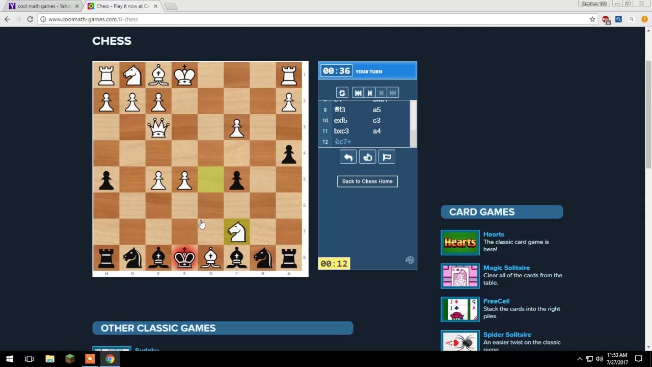 Chess On Coolmath Com