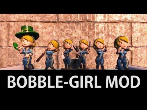Fallout 4 Mods! - Vault-Girl Bobble heads! by AznSenseition