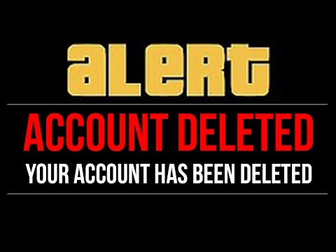 GTA 5 Online - Rockstar DELETE GTA 5 Accounts!! (HUGE BAN-SWEEP)
