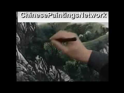 Master Zeng Gang, Landscape Artist.