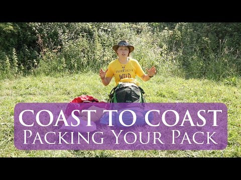 What To Pack For The Coast to Coast Walk | Packing Your Pack | Kit List
