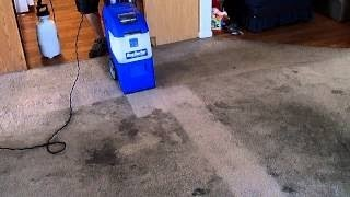 Rug Doctor X-3 Cleaning A Bad Rental Carpet