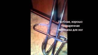 Барный стул Зета Хокер Хром.(Высокий барный стул Зета хокер хром, купить который вы сможете в нашем интернет магазине http://kardo.com.ua/product-182669..., 2014-07-09T17:38:39.000Z)
