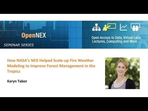NASA's NEX Helped Scale-up Fire Weather Modeling to Improve Forest Management