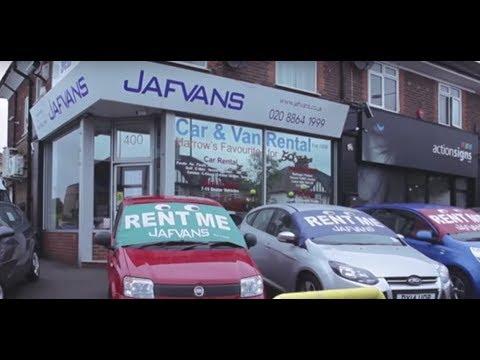 Jafvans Car And Van Rental In West London