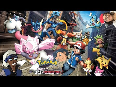 Pokemon Xy The Movie The Cocoon Of Destruction And Diancie