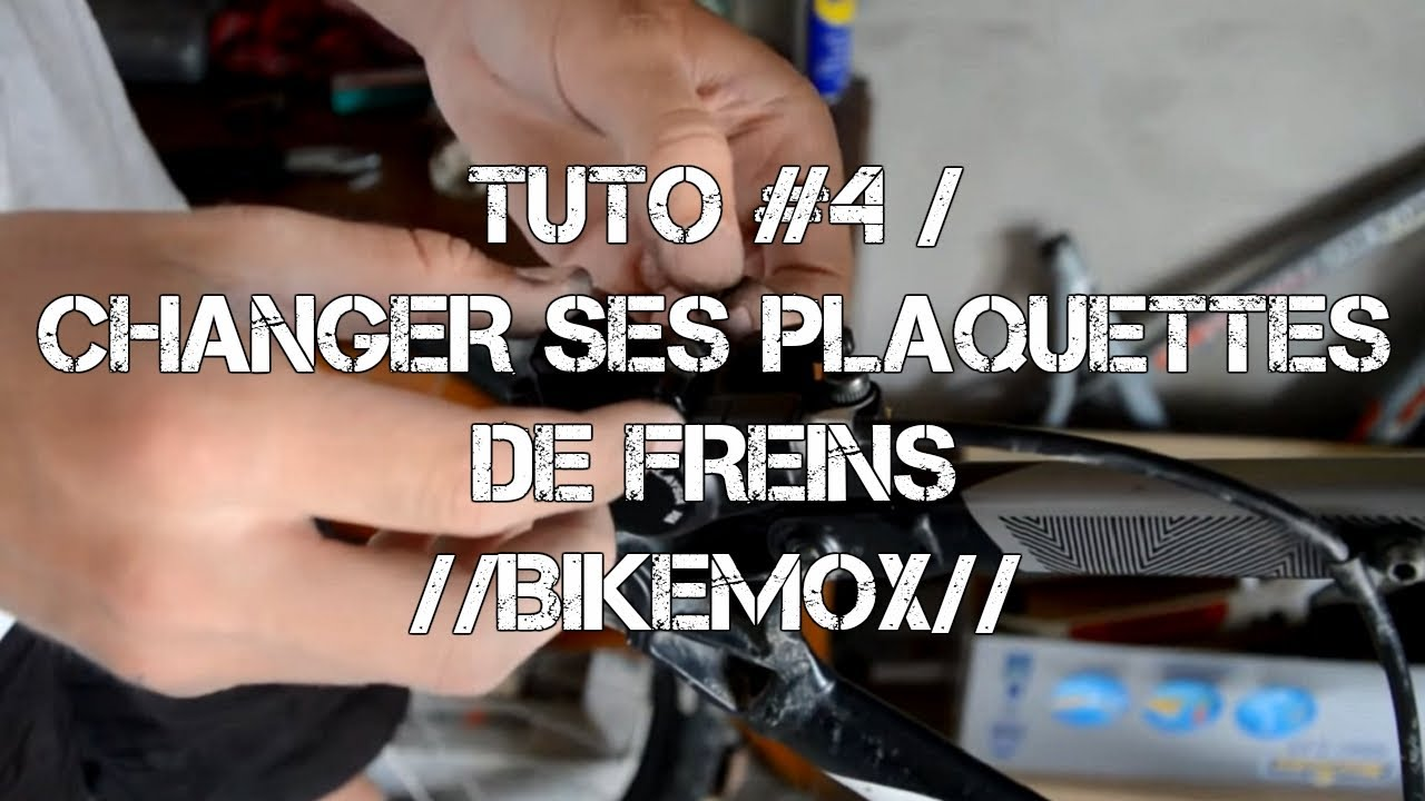 tuto 4 changer ses plaquettes de freins bikemox youtube. Black Bedroom Furniture Sets. Home Design Ideas