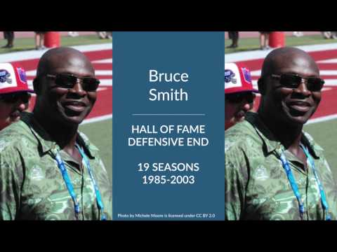 Bruce Smith Hall of Fame Football Defensive End
