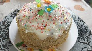 Торт- Кулич без Выпечки. Быстро и Очень Вкусно !