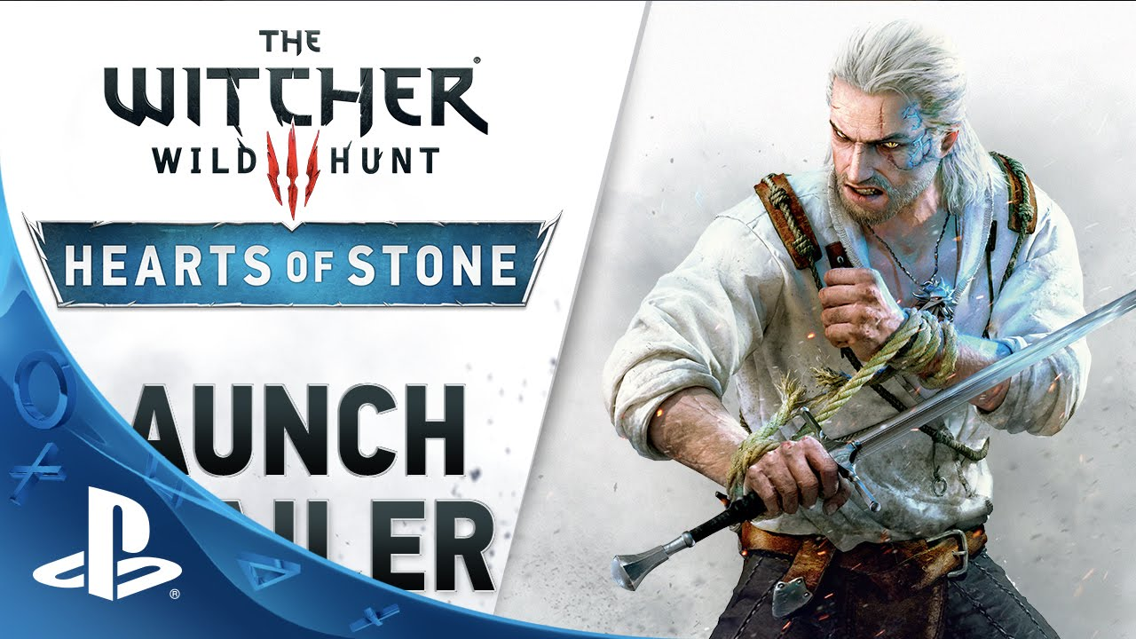 The Witcher 3: Wild Hunt - Hearts of Stone Launch Trailer | PS4
