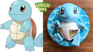 How To Make A Pokemon Squirtle CAKE