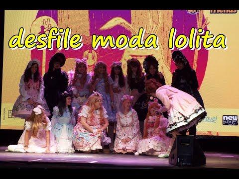 concurso de moda lolita no domingo