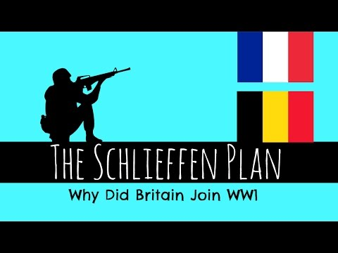 The Schlieffen Plan - Why Britain Joined WW1 - GCSE History