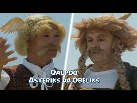 Qalpoq - Asteriks va Obeliks | Калпок - Астерикс и Обеликс (hajviy korsatuv)