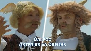 Qalpoq - Asteriks va Obeliks | Калпок - Астерикс и Обеликс (hajviy ko'rsatuv)