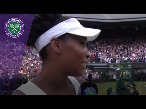 Venus Williams Wimbledon 2017 runner-up interview