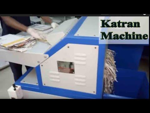 Newspaper Katran machine for fruit packing
