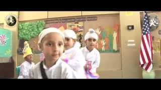 Little Wonders of Akal Academy celebrate American Republic Day on 4th July 2014