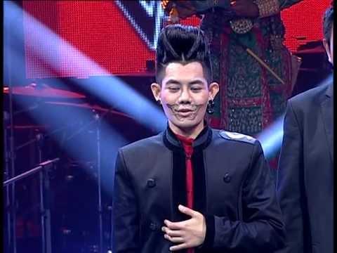 The Voice Thailand - เก่ง ธชย - ทศกัณฐ์มานะ - 15 Dec 2012