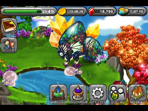 How to breed Opal dragon: Dragonvale 100% Real - YouTube