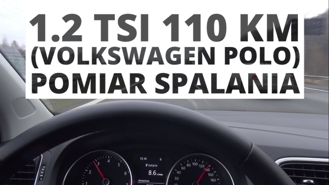volkswagen polo 5d 1 2 tsi 110 km mt pomiar spalania youtube. Black Bedroom Furniture Sets. Home Design Ideas
