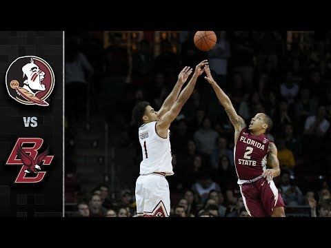 Florida State vs. Boston College Basketball Highlights (2017-18)